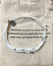 Pura Vida November Pack White Bracelet with Silver Beads/ NWT/ FREE SHIPPING