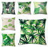 Plant Leaves Cushion Covers! Banana Leaf Nature Tropical Green Garden 45cm Gift