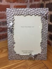 Lancaster & Gibbings Bumble Bee Pewter Photo Frame 7 x 5 Handmade In England