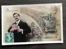 RARE  CPA 59- ANNOEULLIN - souvenir