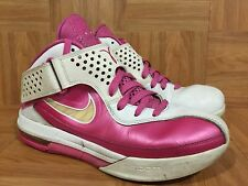 Worn🔥 Nike Lebron Soldier 5 V Think Pink Breast Cancer Awareness Kay Yow Sz 10