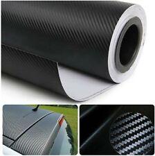 "3D Carbon Fiber Film Twill Weave Vinyl Sheet Roll Wrap (120"" X 60"" Black)"