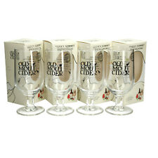 More details for 4 x old mout cider pint glass 20oz brand new 100% genuine official ce