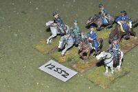 25mm ACW / union - american civil war command 6 cavalry - cav (12552)