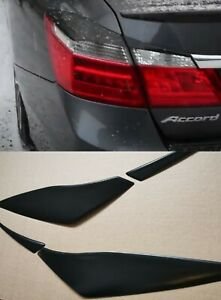 For Honda Accord 9 Tail Lights Covers Rear Eyelids Eyebrows Set 2012-2015