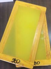 """SILK SCREEN FRAME 10x18""""  WITH HIGH QUALITY 280 mesh, (4 PACK)"""
