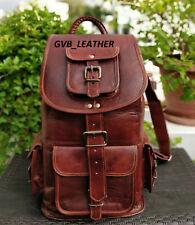 Women's Vintage Leather All Laptop DayPack Backpack Shoulder Bag Sling Rucksack