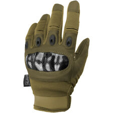 MFH Mission Tactical Gloves Military Security Guard Army Grip Mens Coyote Tan