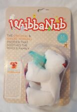 New WubbaNub Infant Newborn Baby Soothie Pacifier - Limited Edition Polar Bear