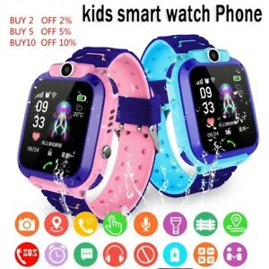 Kids Waterproof Smart Watch With Sim Card Phone Game Photo Location Gift Idea