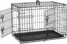 Amazonbasics Cage pliante en Métal avec 2 portes Po(76 cm 2 Portes)