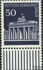 Berlin (West) 289 Unterrandstück postfrisch 1966 Brandenburger Tor