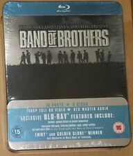 Band Of Brothers HBO Complete Series UK IMPORTED Jumbo Tin Box Region B, A NEW