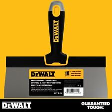 "DEWALT Taping Knife 10"" Stainless Steel Drywall Taping Tool Lifetime Warranty"