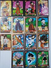 Carte Dragon Ball Z DBZ IC Carddass Starter Set TEST #Full Set BANDAI 2015 RARE