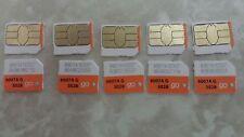 AT&T micro(NANO) SIM CARD 3G/4G SKU#6006A GO PHONE READY TO ACTIVATE LOT 50 SIM