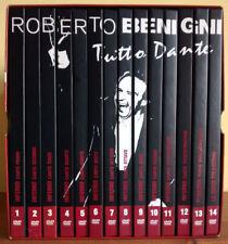 ROBERTO BENIGNI - TUTTO DANTE A FIRENZE - COFANETTO DI 14 DVD OTTIMI BOX