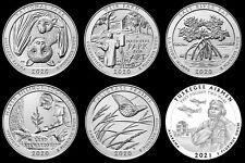 "2020/2021 Receive All 6 National Parks Atb ""Bu"" Quarters *Subscription Sale*"