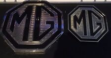 MG Badge Front Grille & rear boot badges for MG ZR ZS Mk 2 Models LE 500 colours