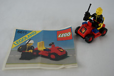 Lego Classic Town 6611 Fire Chief's Car with instructions no box 1981