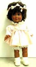 """Efanbee Sissy Black African American 1980 One World Collectible Doll 12"""",#1412"""