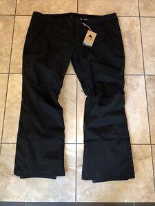 Women's Burton Society Pants- size 3XL- Black