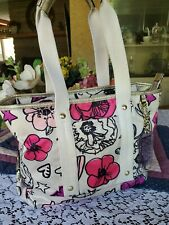 "Coach Poppy ""Kyra"" Floral Tote Shoulder Handbag Purse F17148 Mint"