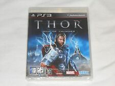 NEW - Korean Version - Thor : God of Thunder Playstation 3 Game PS3 SEALED Korea
