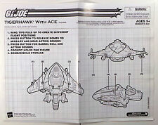 GI Joe 2004 Tigerhawk Original Instructions