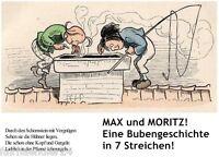►eBook: MAX UND MORITZ in 7 STREICHEN WILHELM BUCH BILDER PICS EPUB PDF E-LIZENZ