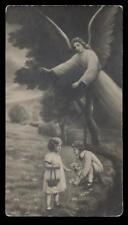 antica cartolina ANGELO CUSTODE