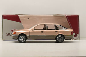 FORD SCORPIO BROWN /CHROME WHEELS 1985 SCHABAK 1/25 NEUF EN BOITE PROMOTIONNELLE