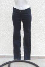 Jeans  femme  taille basse slim couleur bleu Darliot Filo Millenium Taille 40