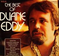 DUANE EDDY the best of CDS 1109 uk rca camden LP PS EX/EX