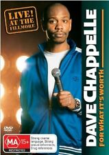 Dave Chappelle - For What It's Worth (DVD, 2006)