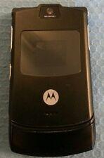 MOTOROLA RAZR V3 - BLACK (T-MOBILE) CELLULAR PHONE.
