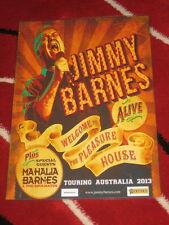 JIMMY BARNES - 2013 AUS TOUR - COLD CHISEL -  LAMINATED TOUR POSTER