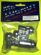 WHEEL LOCK SET 12x1.75 CHROME BULGE ACORN LONG CLOSED LOCK SET SUV FORD LINCOLN