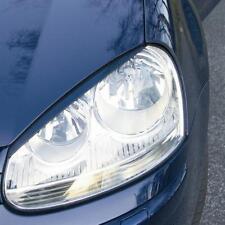 2 PAUPIERES DE PHARE FINE VW GOLF 5 V TDI FSI 1.4 1.6 2.0 TFSI GTI R32 03-08