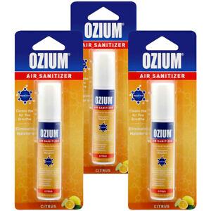 Ozium Air Cleaner 0.8 oz Spray, Citrus Scent (3-PACK)