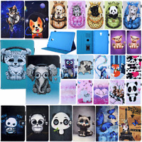For Samsung Galaxy Tab A A6 10.1 SM-T580 T585 Tablet Pattern Leather Cover Case