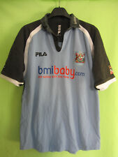 Maillot Rugby Cardiff Blues BMIBABY Fila Vintage RFC Jersey - L