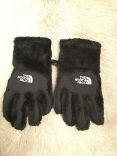 The North Face Girls Denali Thermal Etip Glove: Size M: Black (24)