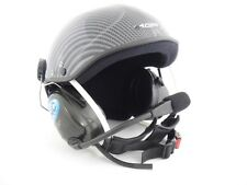 Icaro Skyrider Standard Com Helmet for Powered Paragliding and Paramotor, Carbon