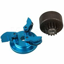 Blue D10200 Aluminum Upgrade Flywheel with Clutch Kit Set For RC1:8 Model Car