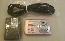 "Casio EXILIM EX-Z33 10MP Pink Digital Camera 2.5""LCD 3x Optical Zoom GOOD 101752"
