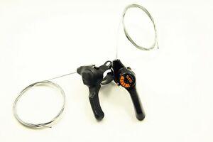 Shimano MY15 3 X 5 Speed Shifters Bike Bicycle Tigger Friction Thumb Shifter NOS