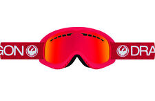Dragon Alliance DX Ski snowboard Goggles adult Red / Red  Ionized 2017 NEW