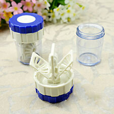 Hot Brilliant Manually Contact Lens Cleaner Washer Cleaning Lenses Case JP