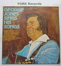 GEORGE JONES - George Jones Sings His Songs - Ex LP Record RCA Victor LSA 3216